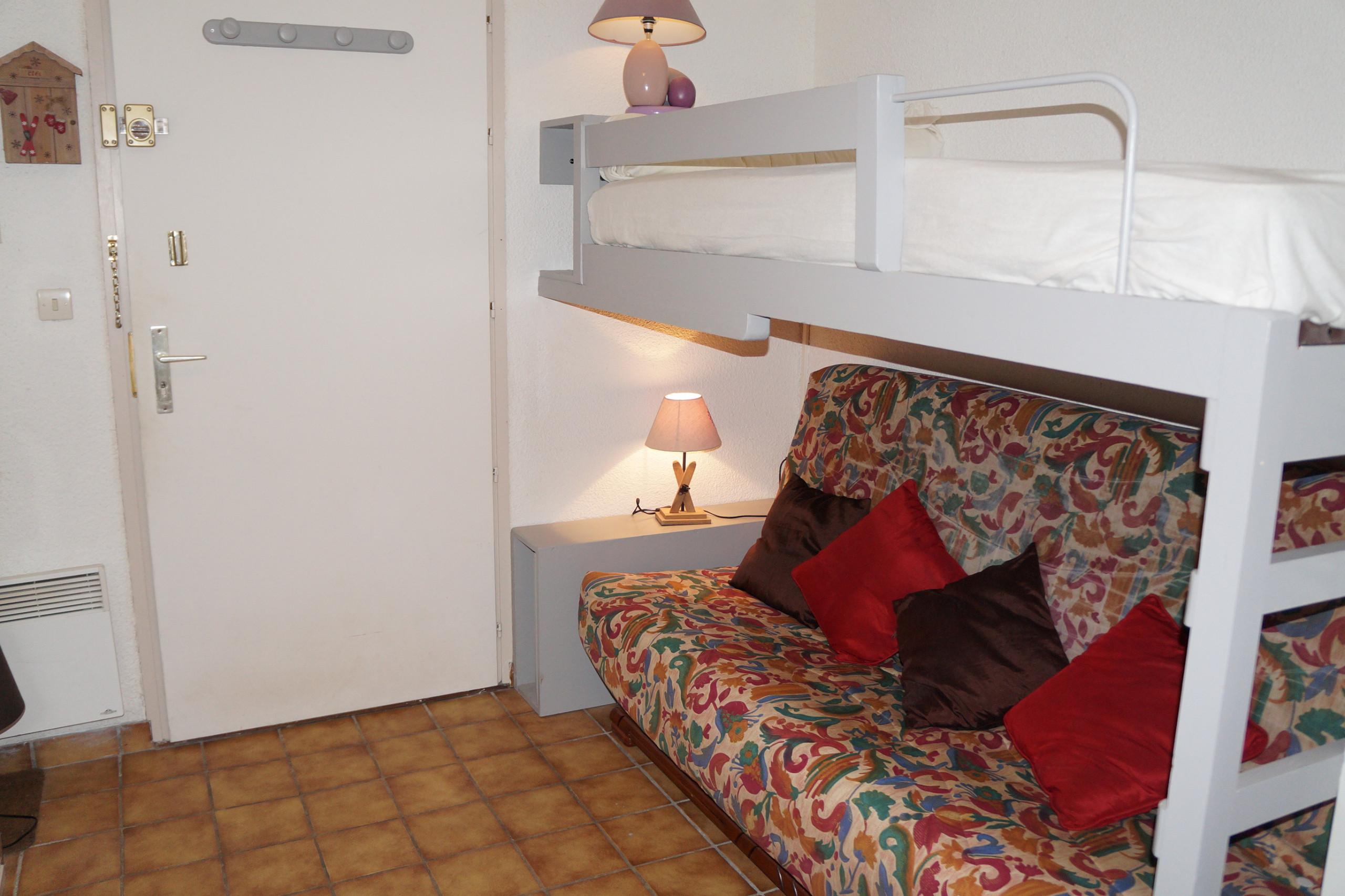 Photo of CA228 - Studio  4/5 Pers centre des Carroz